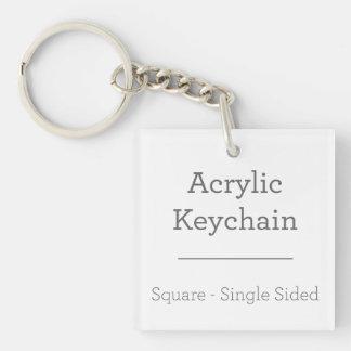 Gör ditt eget att kvadrera Keychain