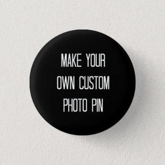 Gör ditt egna beställnings- foto att klämma mini knapp rund 3.2 cm