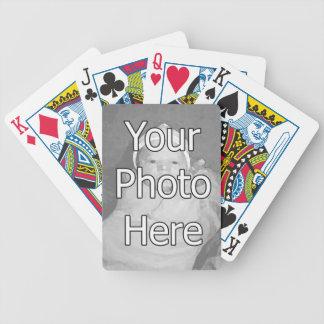 Gör ditt egna foto som leker kort kortlek