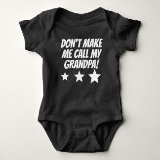 Gör inte mig appellen min morfar t shirt