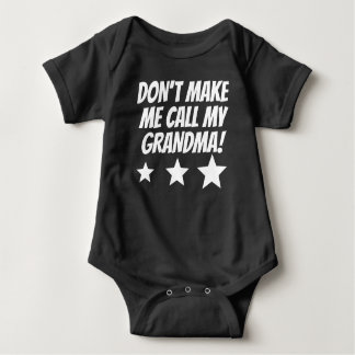 Gör inte mig appellen min mormor tshirts