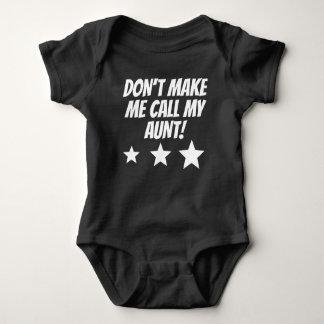 Gör inte mig appellen min moster tröja