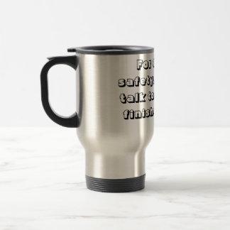 Gör inte - Samtal-Till-jag travel mug Resemugg