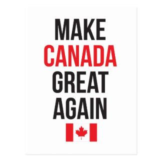 Gör Kanada den underbara igen kanadensare först Vykort