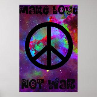 Gör kärlek att inte kriga I Poster