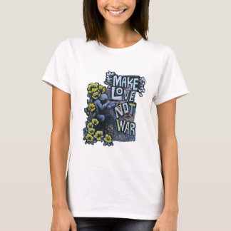 Gör kärlek, inte krig: PropagandaT-tröja Tee Shirts