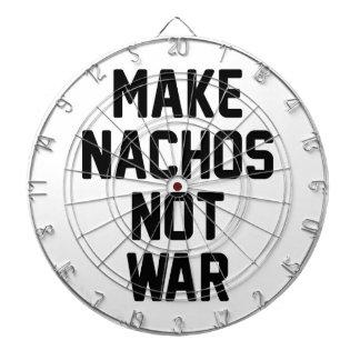 Gör krig för Nachos inte Darttavlor