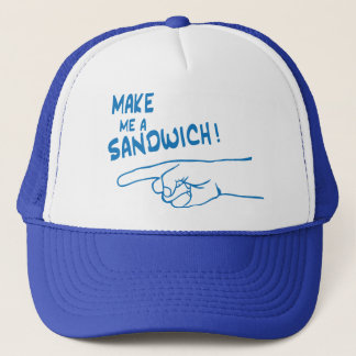 Gör mig en smörgås truckerkeps
