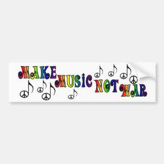 Gör musikbildekalet bildekal