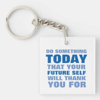 Gör något, i dag som den framtida själven tackar