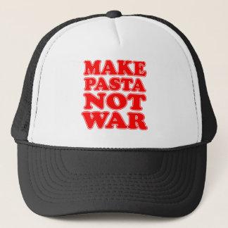 Gör pasta att inte kriga truckerkeps