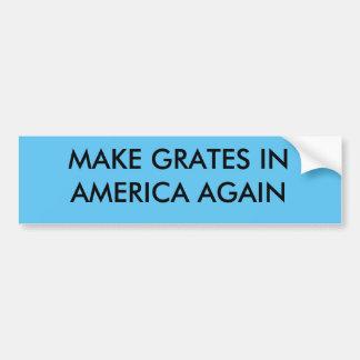 Gör spisgallrar i Amerika igen Bildekal