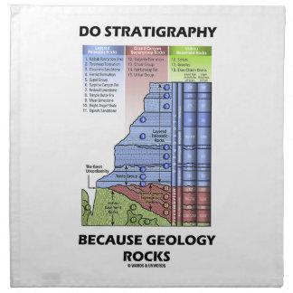 Gör Stratigraphy, därför att geologi vaggar Tygservett