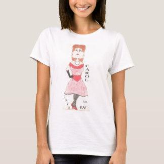 Göra gropar för sång t-shirt