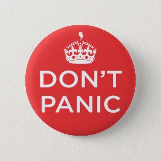 Göra panikslagen inte knäppas standard knapp rund 5.7 cm