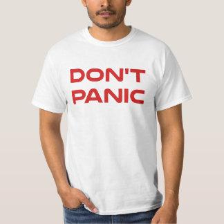 Göra panikslagen inte tee shirts