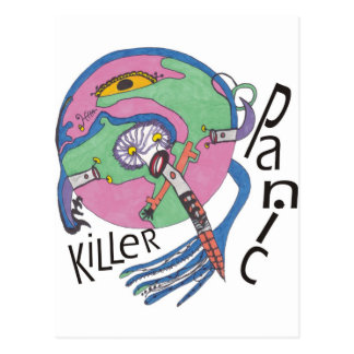 Göra panikslagen mördare vykort