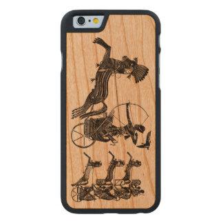 Göra till kung fodral för trä för iPhonen för