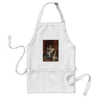 Göra till kung Louis XV som ett barn av Hyacinthe  Förkläde