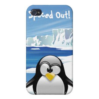 Görad mellanslag ut pingvin iPhone 4 cover