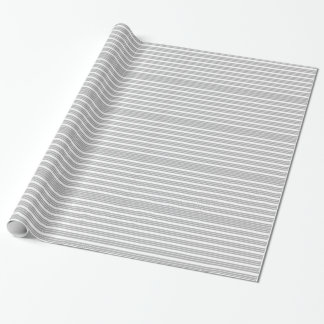 Görade randig grå färg och vit slå in papper presentpapper