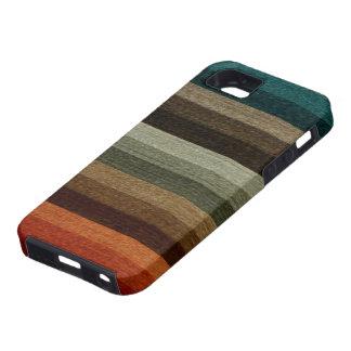 Görade randig mönster för vintage tonar den varma iPhone 5 Case-Mate cases