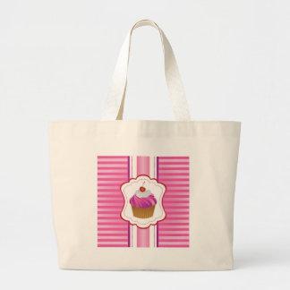 Görar randig flickaktigt och muffins tote bags