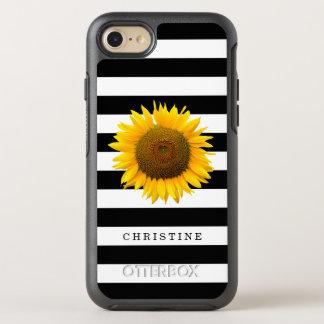Görar randig svart vit för klassikern lantligt OtterBox symmetry iPhone 7 skal