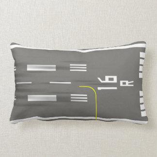 Görat klar för att landa landningsbanan kudde, lumbarkudde