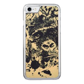 Gorilla Carved iPhone 7 Skal