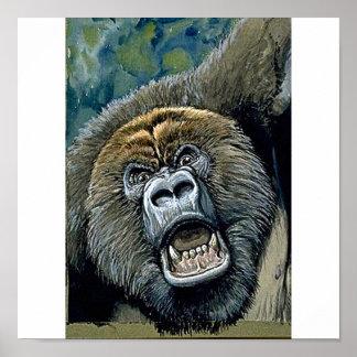 Gorilla Poster