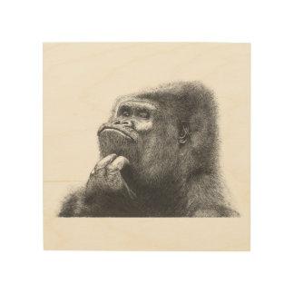 Gorilla Trätavla