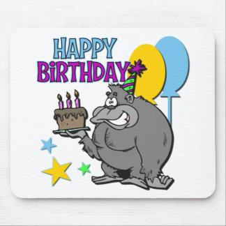 Gorillafödelsedaggåva Mus Mattor