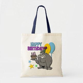 Gorillafödelsedaggåva Tote Bags