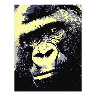 Gorillaporträtt Reklamblad