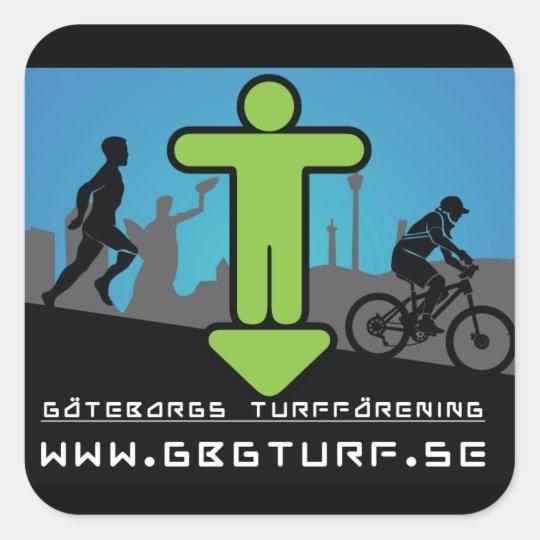 Göteborgs Turf Förening - Klistermärke