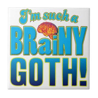 Goth klyftig hjärna keramiska plattor