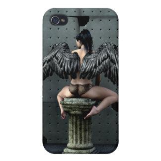 Gotisk ängel 4 iPhone 4 skal