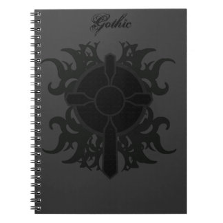 Gotisk arg journal anteckningsbok med spiral