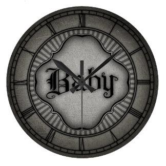 Gotisk baby stor klocka