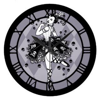 Gotisk Ballerina Stor Klocka