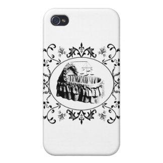 Gotisk Batty Bassinet iPhone 4 Cover