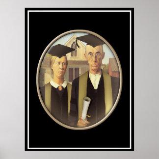 Gotisk doktorand- Cameo för amerikan Poster