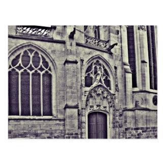 Gotisk domkyrka vykort