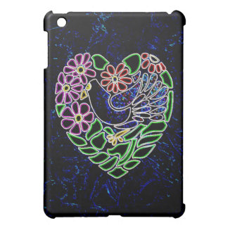 Gotisk fågel i hjärta iPad mini skal
