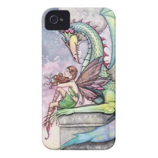 Gotisk fantasikonst för fe och för drake Case-Mate iPhone 4 fodral