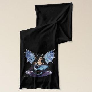 Gotisk fe- och drakefantasikonst sjal