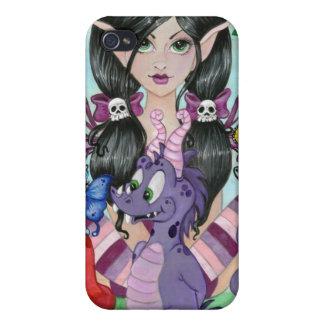 """""""Gotisk fodral för Cuties #2"""" iPhoneSpeck vid iPhone 4 Fodraler"""