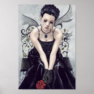 Gotisk klagovisaaffisch poster