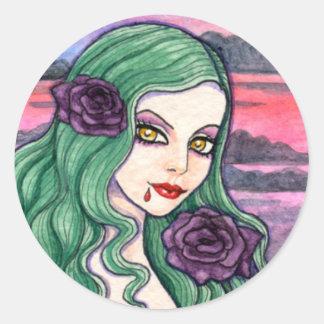 Gotisk klistermärke för vampyr av Ann Howard